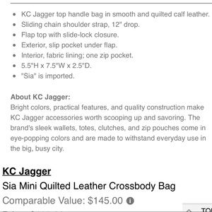 Neiman Marcus Bags - Neiman Marcus KC Jagger Quilted Leather Crossbody